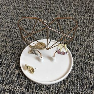 IMM Coxit Wire Heart Jewelry Holder